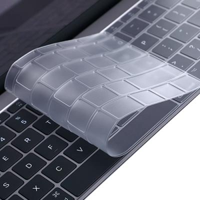 Apple蘋果Macbook Air 13吋筆電A1932專用矽膠超薄透明鍵盤膜