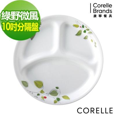 CORELLE康寧 綠野微風10吋分隔盤
