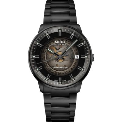 MIDO 美度 COMMANDER 香榭系列漸層機械錶-40mm M0214073341100
