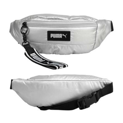 PUMA PRIME PUFFA腰包-臀包 側背包 斜背包 自行車 單車 慢跑 07819302 銀黑