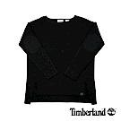 Tibmerland 女款黑色平口長袖上衣|B2706