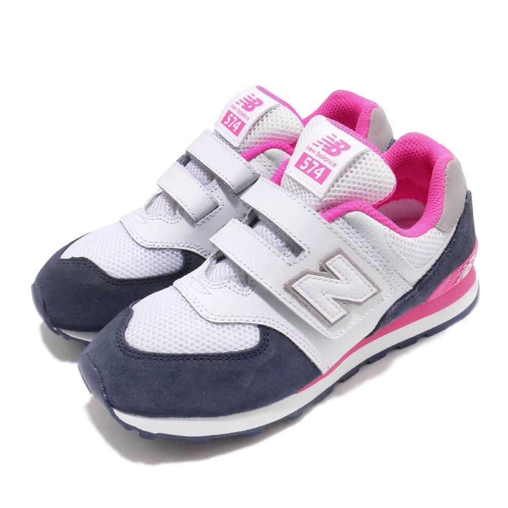New Balance 慢跑鞋 YV574NSCW 寬楦 童鞋