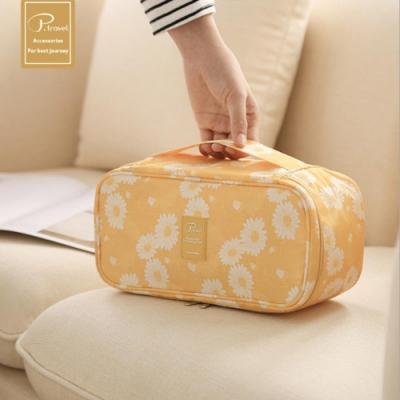 P.travel 內衣收納包-雛菊黃