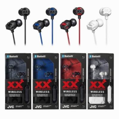 JVC耳道式無線藍牙耳麥HA-FX101BT送百元耳機