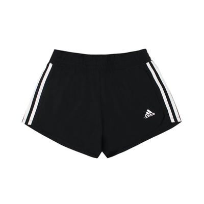 ADIDAS 女 PACER 3S WVN   運動短褲 -GH8146
