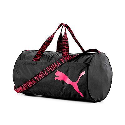 PUMA-女性AT運動圓筒袋-黑色
