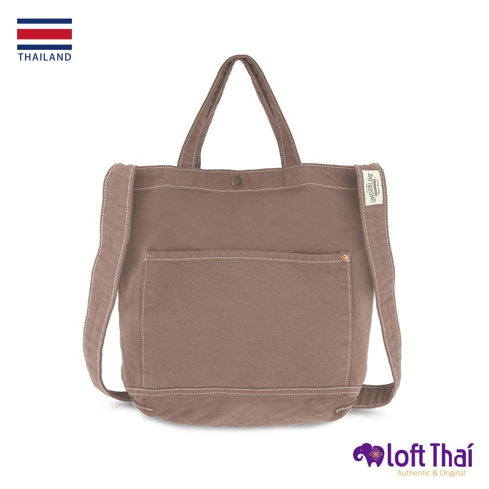Loft THAI | 泰.兩用水洗帆布單肩包 | Brown @ Y!購物