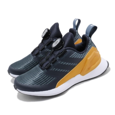 adidas 慢跑鞋 RapidaRun BOA K 童鞋