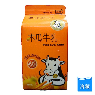味全 木瓜牛乳381ml*6瓶