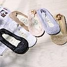 Hera 赫拉 蕾絲小花隱形船襪(5色)-2入一組