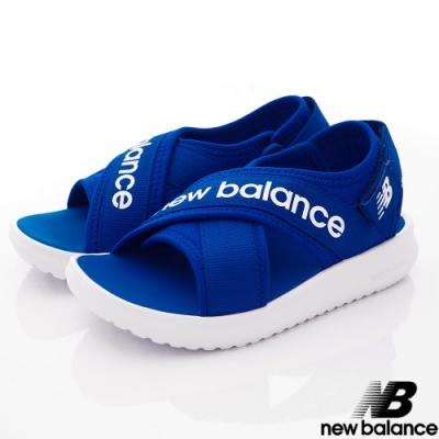 NewBalance 650輕量涼鞋款 AC藍(中大童段)