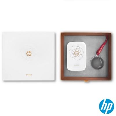 HP Sprocket 口袋相印機 晶彩閃耀限量版(冰晶白)