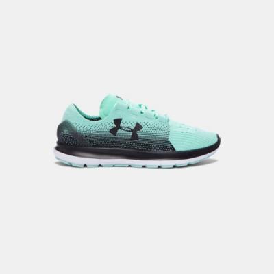 UNDER ARMOUR女 慢跑鞋 水晶綠/白