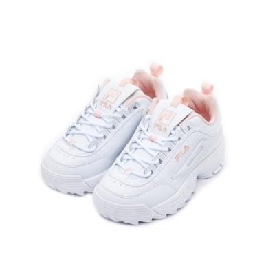 FILA 中性運動鞋(鋸齒鞋)-粉 4-C113U-115