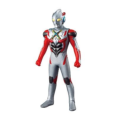【BANDAI】代理版 特攝 超人力霸王 X英雄 X艾克斯 軟膠公仔