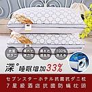 DaoDi 七星級飯店抗菌防蹣水洗枕頭 二入 (45cmx75cm/個)