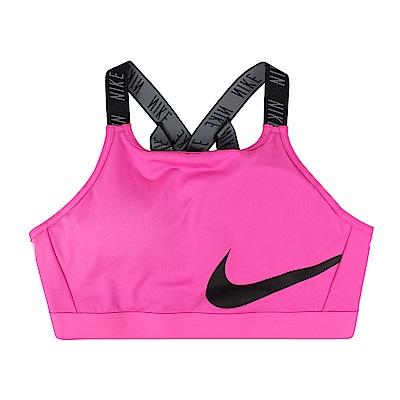 Nike 女 CLASSIC LOGO BRA 2 有氧韻律BRA(小背心)