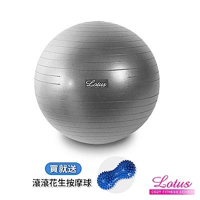 瑜珈球 專業升級版霧面加厚防爆瑜珈抗力球-2色 LOTUS