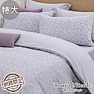 Tonia Nicole東妮寢飾 森朵清苑100%精梳棉兩用被床包組(特大)