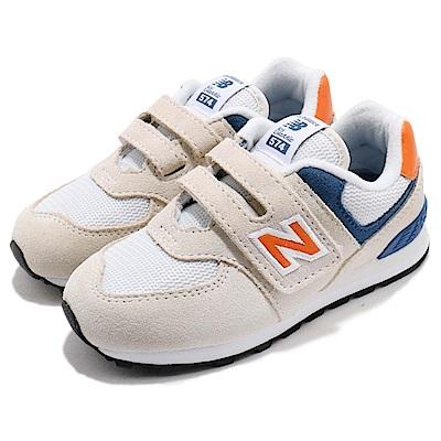 New Balance 慢跑鞋 IV574SNW 寬楦 童鞋