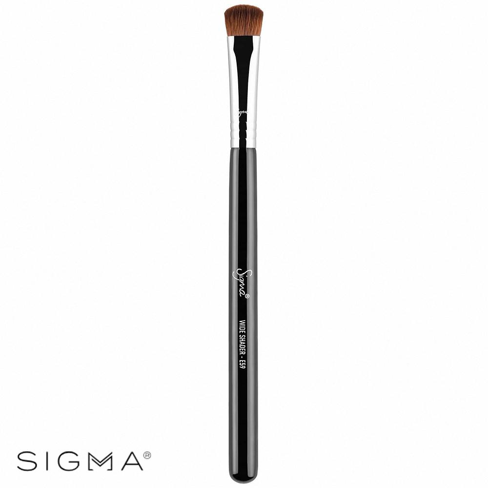 Sigma E59-寬扁平頭眼影刷 Wide Shader Brush