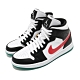 Nike 休閒鞋 Air Jordan 1 Mid 運動 女鞋 經典款 喬丹一代 皮革 簡約 球鞋 黑 綠 BQ6472063 product thumbnail 1