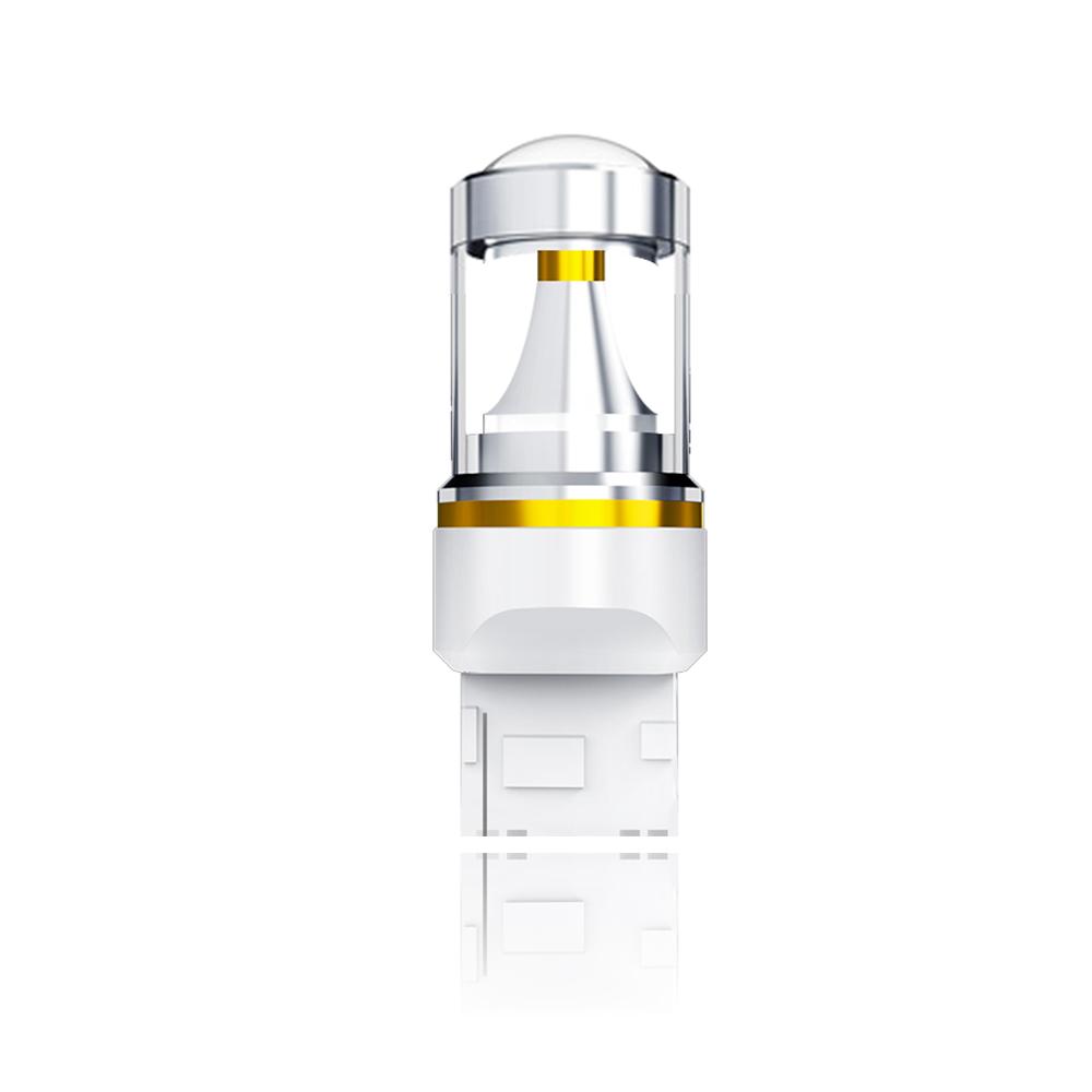 【車的LED】勁亮T20 單芯款 6LED 爆閃魚眼燈30w(白光-單入)