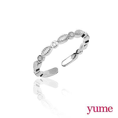 YUME 素銀系列-環繞(925純銀)