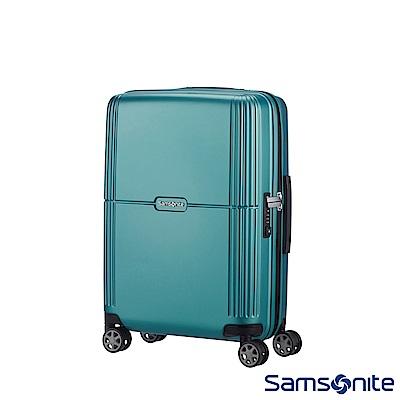 Samsonite新秀麗 20吋Orfeo 簡約方正線條PC嵌入式TSA海關鎖登機箱(湖水