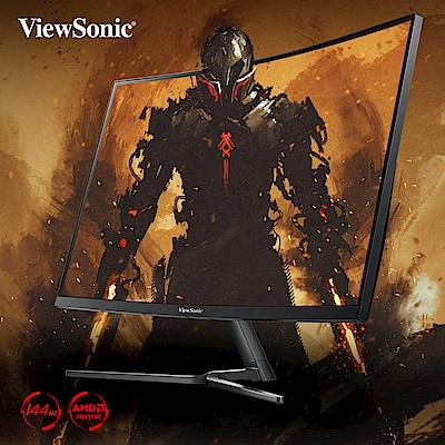 ViewSonic VX2758-C-MH 27型電競曲面螢幕