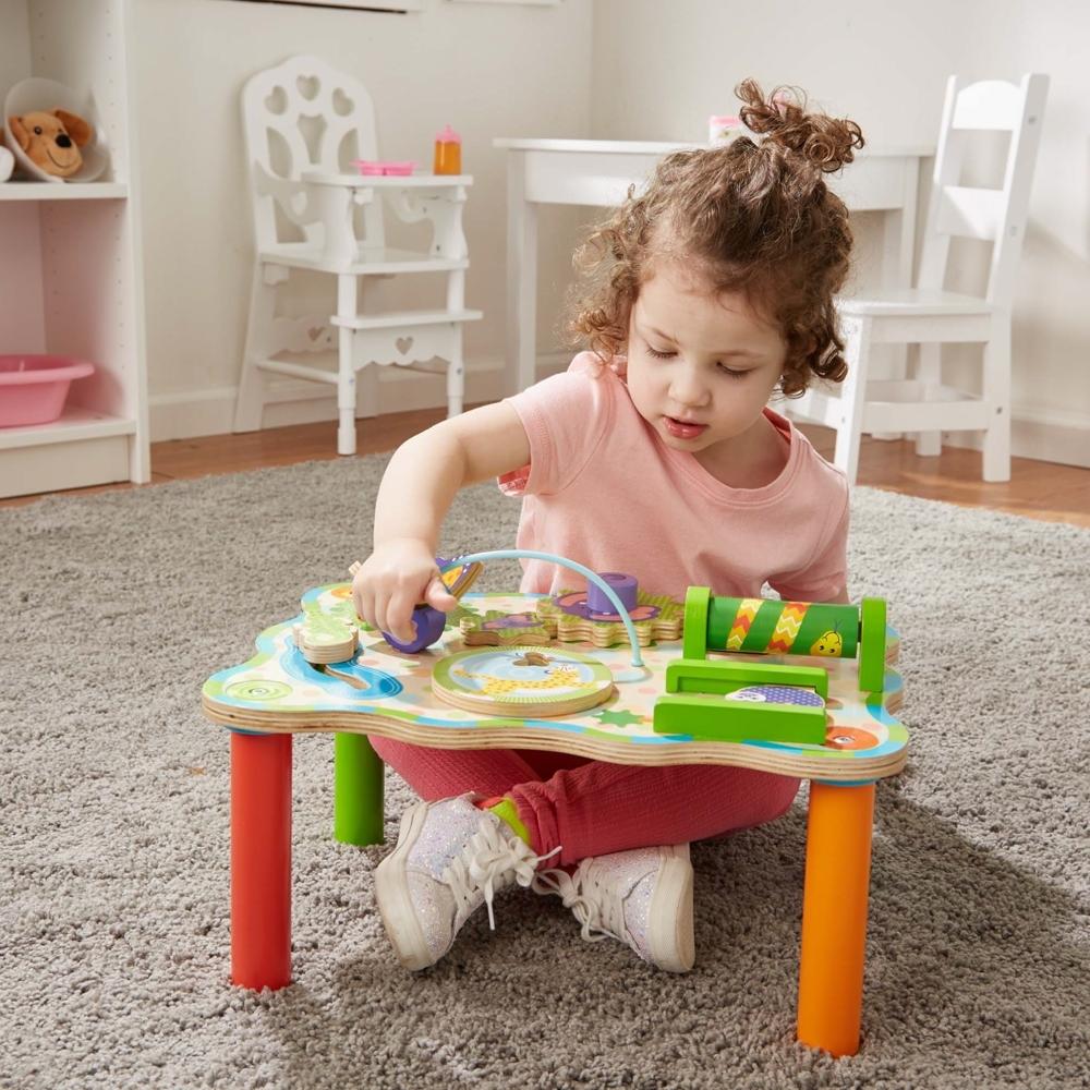 美國瑪莉莎 Melissa & Doug 幼兒啟蒙 - 叢林冒險遊戲桌