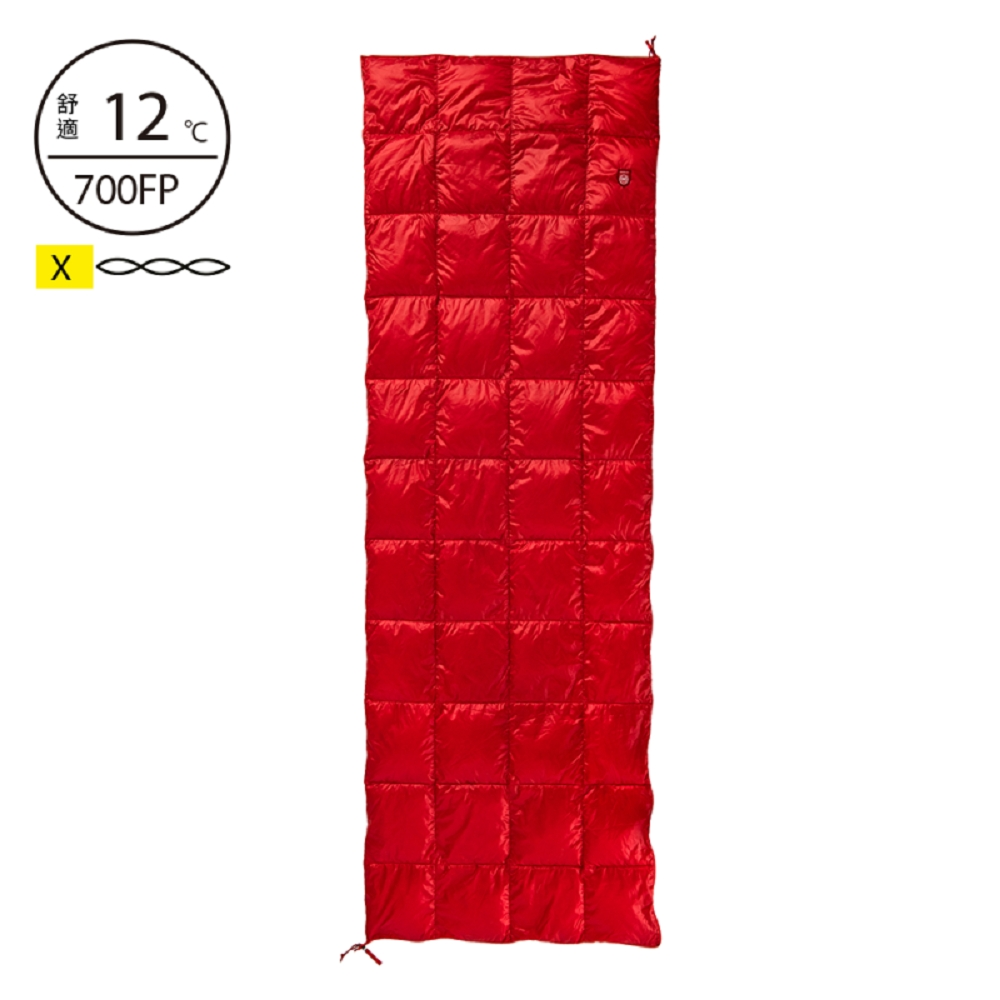 Pajak Core Blanket'19 波蘭超輕羽絨被 紅 420g Blanket-red product image 1