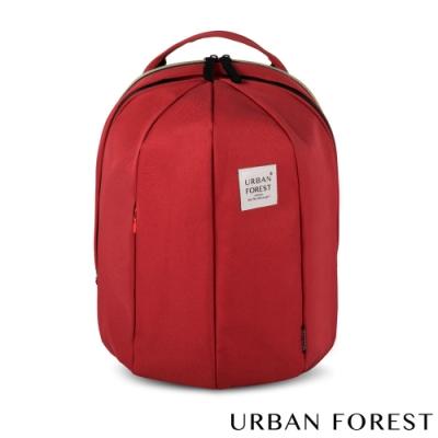 URBAN FOREST都市之森 甲蟲-可擴充後背包/雙肩包 (L號) 酒紅