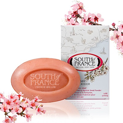 South of France 南法馬賽皂 – 嫣彩櫻花 (全球獨家)(盒損品)