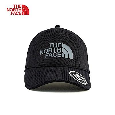 The North Face北面黑色舒適透氣運動帽|3KBSETR