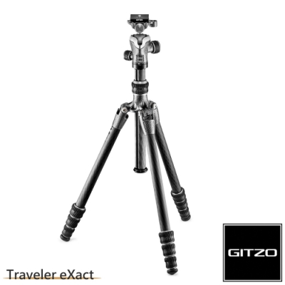 Gitzo Traveler eXact GK0545T-82TQD 碳纖維三腳架雲台套組 0號4節-旅行家系列