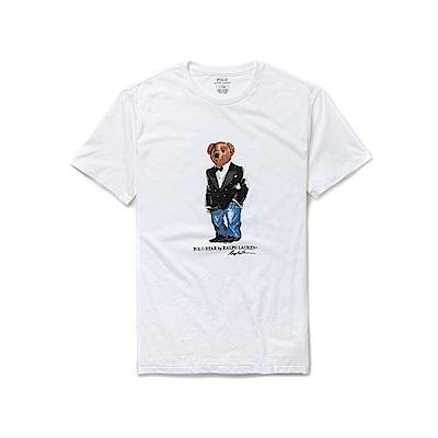 Polo Ralph Lauren 年度熱銷Polo熊短袖T恤-白色
