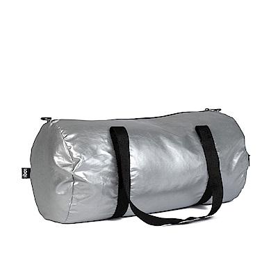 LOQI 雙面旅行袋-金屬銀 WEMMSI