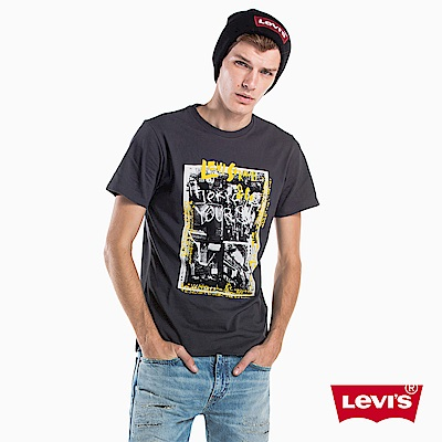 Levis T恤 男裝 GRAPHIC 印花 黑色