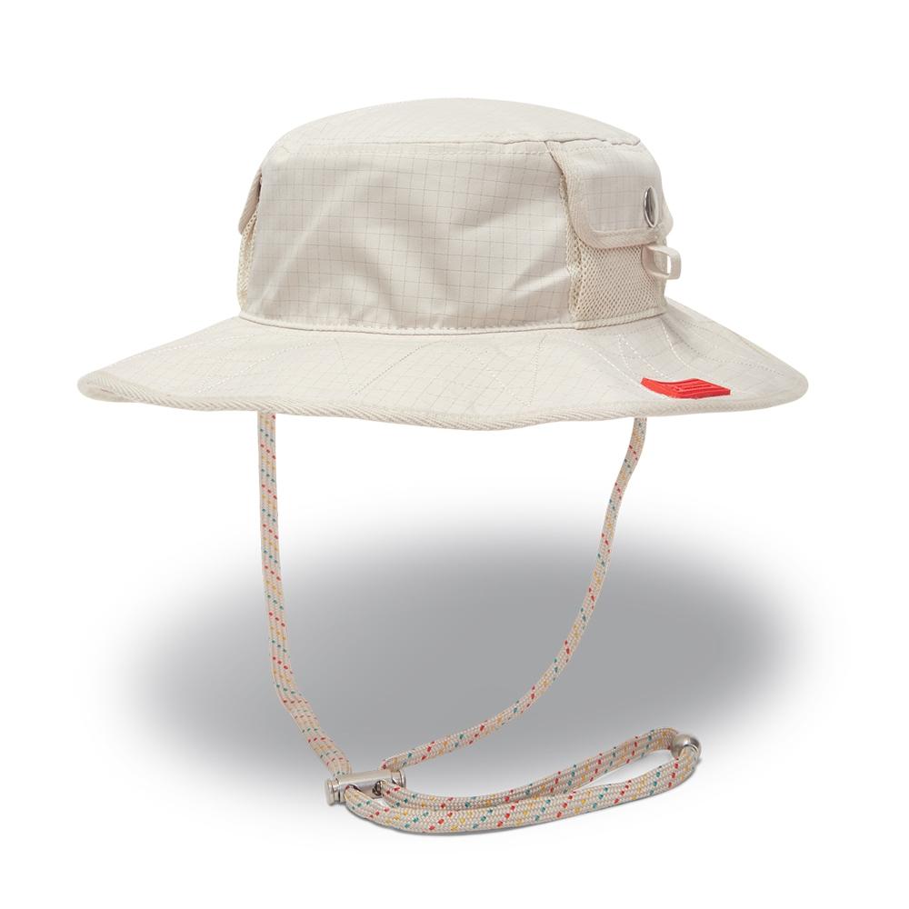 CONVERSE UTILITY BOONIE HAT STRING 男女 休閒帽 漁夫帽 米白色 10021444-A03