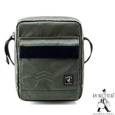 PORTER - 軍裝格調MATCHING UP輕巧小型斜背包 - 綠