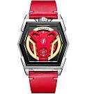 瑞士丹瑪DAUMIER正義聯盟DEVIA系列限量腕錶-閃電俠