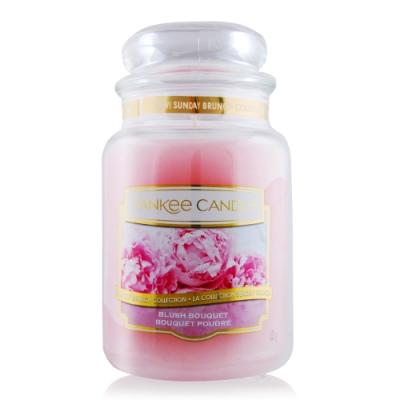 YANKEE CANDLE香氛蠟燭-臉紅花束 Blush Bouquet 623g