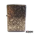 日系Zippo 阿拉伯風亂紋-浮雕防風打火機#ZA-5-62a