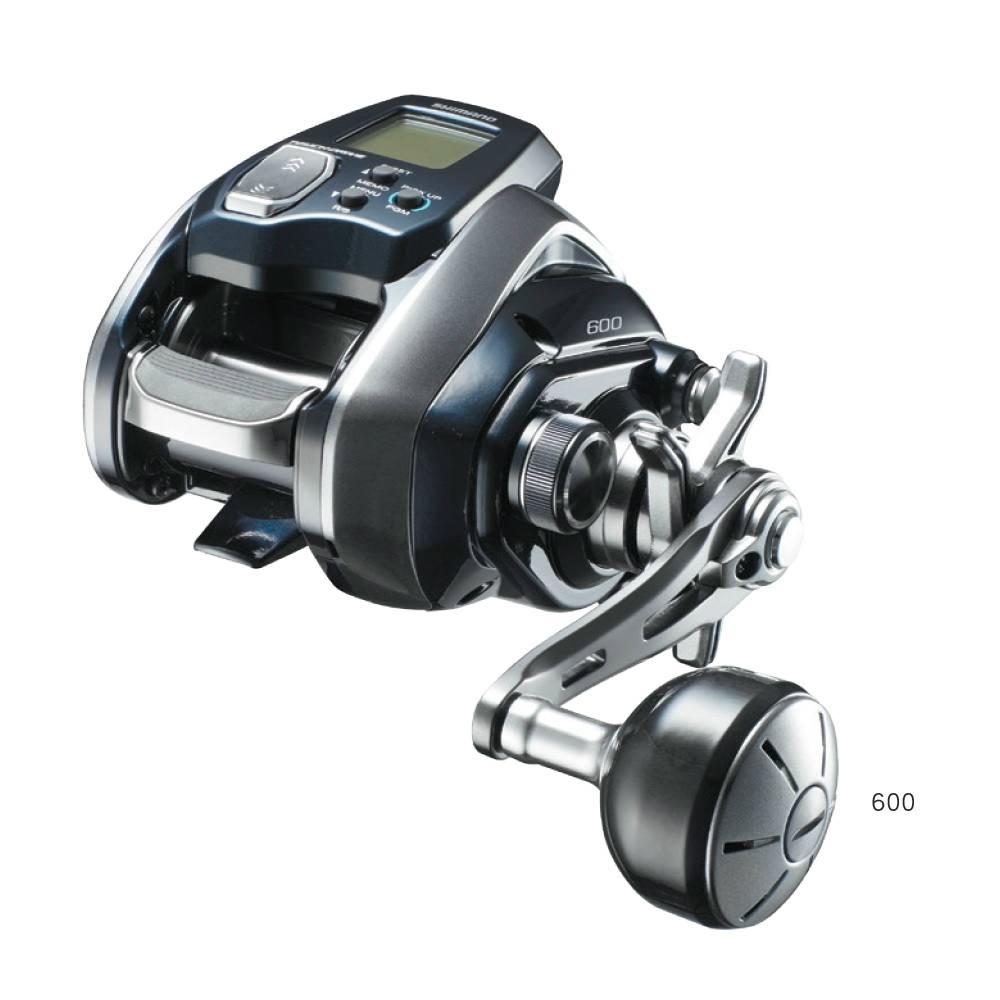 【SHIMANO】Force Master 600 / 600DH 電動捲線器