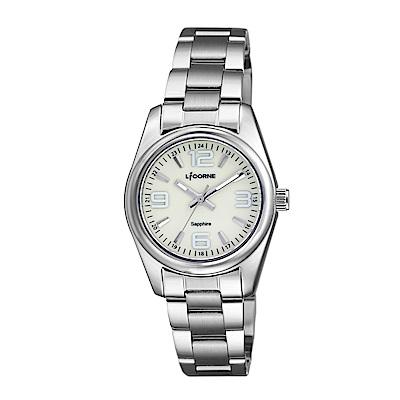 LICORNE 力抗錶 都會款 簡約風格手錶 白/29mm