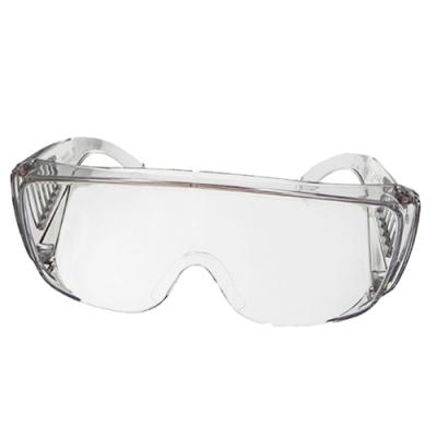 【Docomo】防疫首選 防飛沫飛濺 最大型全透明護目鏡 抗UV400 一體成型 1入