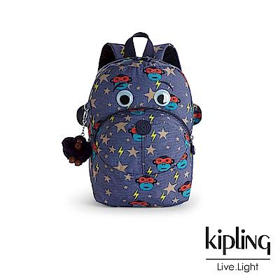 Kipling 後背包 閃電眼罩猴-中