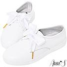 Ann'S第二代小清新附緞帶小白鞋
