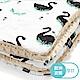 La Millou 暖膚豆豆毯嬰兒毯寶寶毯-柴可夫天鵝-焦糖密斯朵 product thumbnail 2